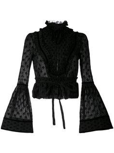 куртка Victorian с вышивкой Dsquared2