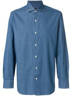 джинсовая рубашка Barba