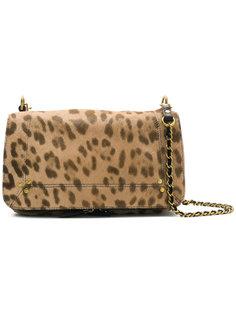 сумка на плечо с леопардовым узором Jérôme Dreyfuss