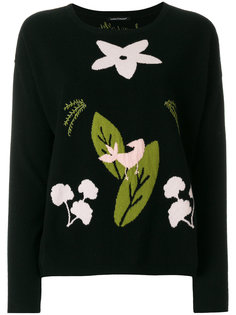 свитер с листьями Luisa Cerano