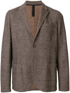 приталенный пиджак с мелким узором  Harris Wharf London