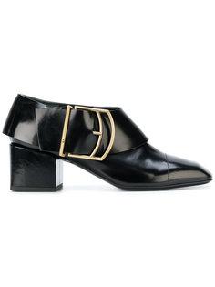 туфли-лодочки с пряжкой Jil Sander