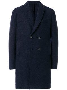 двубортное пальто Harris Wharf London