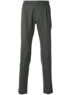 классические зауженные брюки Tagliatore