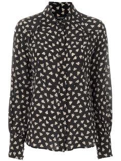 рубашка с принтом перьев Salina  Isabel Marant