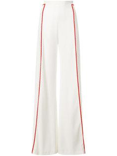 брюки с контрастной полоской Galvan