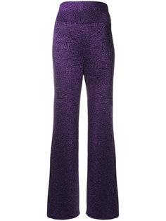 широкие блестящие брюки  Missoni