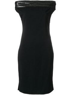 платье шифт с пайетками  Paco Rabanne
