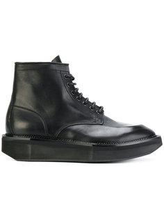 классические сапоги со шнуровкой Premiata
