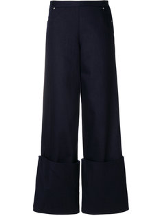 брюки с манжетами  Chalayan