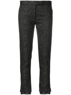 укороченные брюки с блестками сзади Ann Demeulemeester