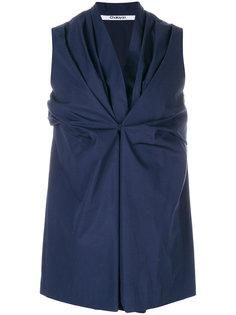 блузка с запахом Chalayan