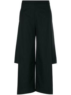 брюки с разрезами по бокам  Chalayan