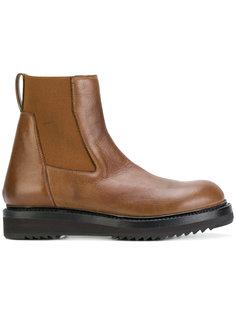 ботинки-челси на массивной подошве Rick Owens