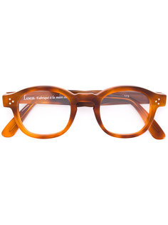 очки в прямоугольной оправе Lesca