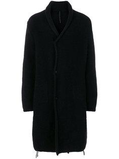 длинное трикотажное пальто  Poème Bohémien