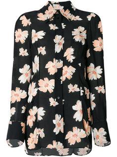 блузка с цветочным принтом Joseph