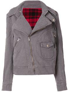 джинсовая байкерская куртка Vivienne Westwood