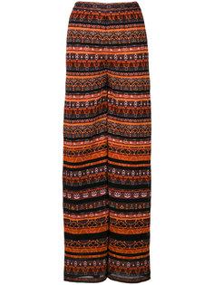 трикотажные широкие брюки M Missoni