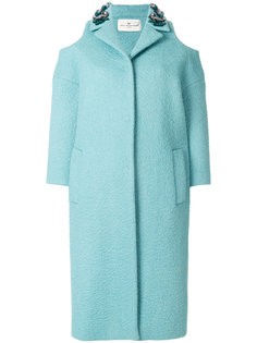 пальто с открытыми плечами Anya Hindmarch