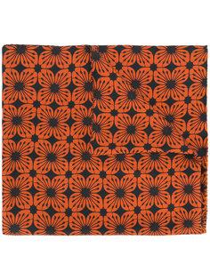 шарф с цветочным принтом Doppiaa