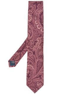 галстук с цветочным принтом Doppiaa