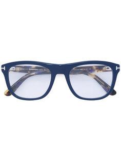 очки с квадратной оправой Tom Ford Eyewear