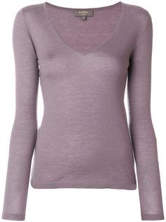 свитер тонкой вязки с V-образной горловиной N.Peal