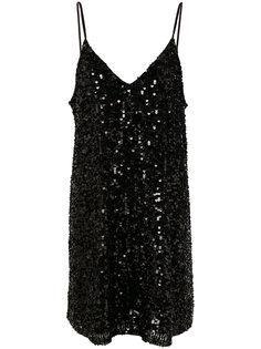 платье-шифт из пайеток Twin-Set