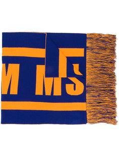 шарф с логотипом MSGM
