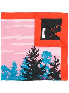 шарф с принтом Forest MSGM