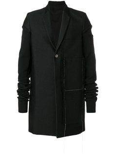 удлиненная куртка Glitter Moreau Rick Owens
