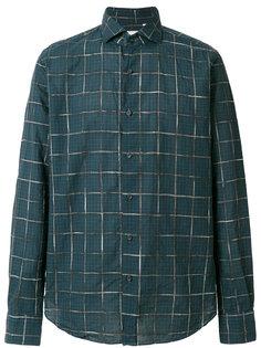 рубашка с принтом в клетку Xacus