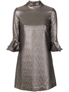 платье с эффектом металлик Amen Amen.
