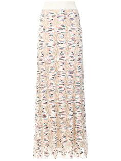 трикотажная юбка макси Missoni