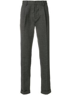брюки прямого кроя  Doppiaa