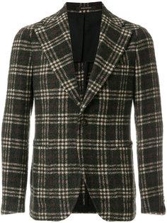 классический пиджак в клетку Tagliatore