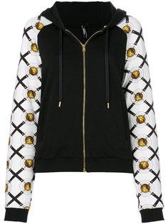 куртка с контрастными рукавами Versus