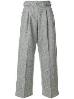 широкие брюки с поясом  YMC