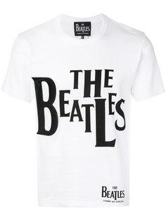 футболка с принтом The Beatles Comme Des Garçons Play