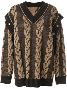 жаккардовый свитер Marc Jacobs