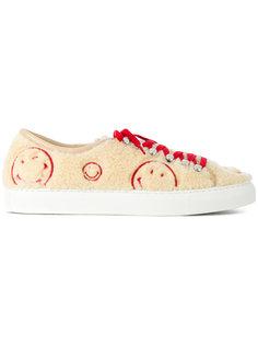 текстурированные кроссовки на шнуровке Joshua Sanders