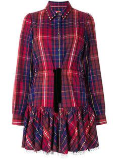 платье-рубашка в клетку Hilfiger Collection
