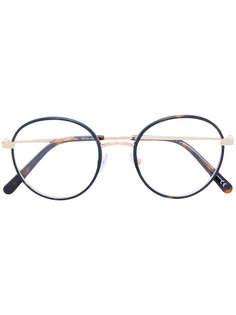 очки в круглой тонкой оправе Stella Mccartney Eyewear
