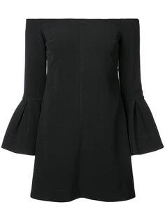 платье с открытыми плечами  Alexis