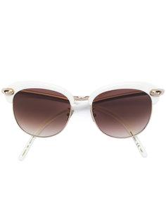 солнцезащитные очки в круглой оправе Pomellato