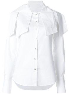 рубашка с декоративными язычками Balossa White Shirt