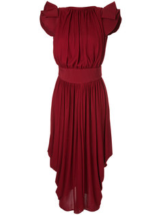 платье с оборками Antonio Berardi