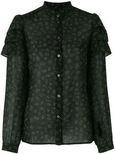 блузка с вышивкой Vanessa Seward