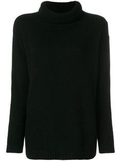 объемный свитер с высокой горловиной Prada